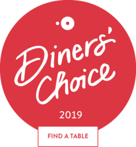 Cafe Manna Diners Choice Award