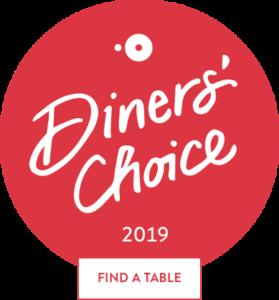 Cafe Manna Diners Choice Award